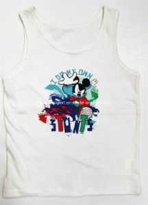 Cotton Print Boy Tank Top Chirldren Wear pictures & photos