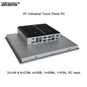 support windows 7 /8 / 10 or Linux system 15 inch IP65 industrial touch panel PC pictures & photos