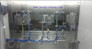Dustfree Static-Gun Automatic UV Spray Painting Line pictures & photos