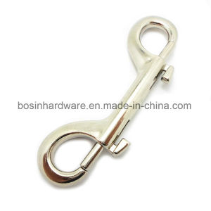 100mm Nickel Cast Double Eye Bolt Snap Hook pictures & photos