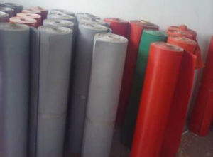 Silicone Glassfiber Cloth for Heat Shrinking Machine pictures & photos
