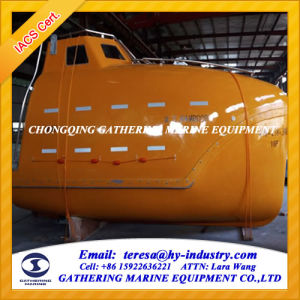 16persons Enclosed Fall Lifeboat Marine Free Fall Lifeboat pictures & photos