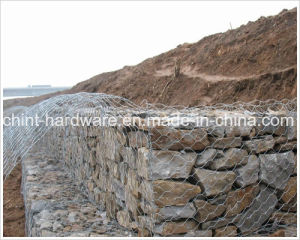 Galvanized Weaving Gabion Box Wire Mesh pictures & photos