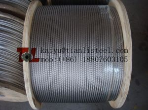 304 7X37 Stainless Steel Wire Rope pictures & photos