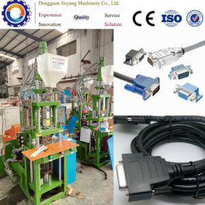Vertical Mini Plastic Injection Molding Machine for Power Cord pictures & photos
