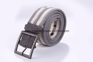Sport Custom Wholesale Cotton/Polyester Braided Weaving Pin Buckle Belt pictures & photos