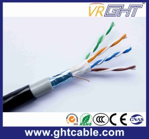 Copper 24AWG Outdoor FTP Cat5e Cable pictures & photos