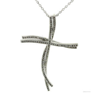 Fashion Accessories Silver Pendant with Cross Shape (P4902) pictures & photos