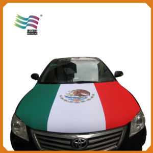 Spain National Flag Outdoor Car Hood Cover (HYCH-AF010) pictures & photos