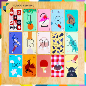 Popular Environment Friendly Children Playing Cards pictures & photos