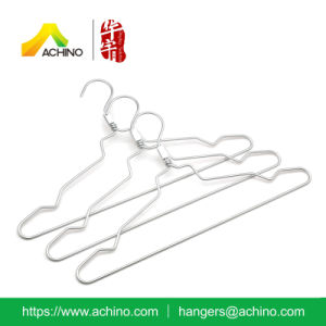 Light Metal Dress Hanger with Loop (ATH100) pictures & photos