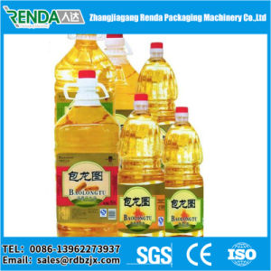 Linear Type Edible Oil Filling Machine with Filler and Capper 2000 Bottles Per Hour pictures & photos