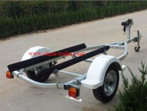 Galvanzied Jet Ski Trailer with Single Axle pictures & photos