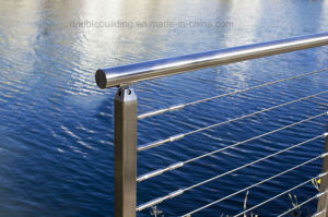 Seaside Stainless Steel Balustrade with Rust Proof pictures & photos