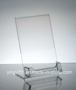 Custom Acrylic Desktop Business Card Holder Display pictures & photos