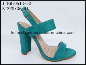 Newest Design Lady Dressing Shoes Party High Heels (0513-13) pictures & photos