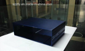 Customized Anodised Aluminium Extrusion Powder Shell Profiles by CNC Machining pictures & photos