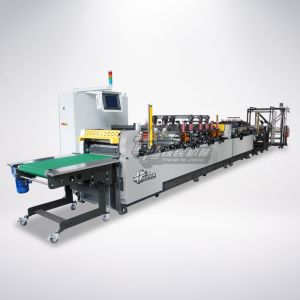Automatic One Piece Structure Stand Pouch Bag Making Machinehd-600um pictures & photos