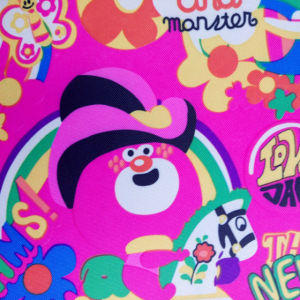 400d Carton Printed Oxford Fabric for Baby Cartoon Picnic Mat pictures & photos