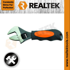 Stubby Adjustable Wrench Adjustable Spanner with Scale pictures & photos