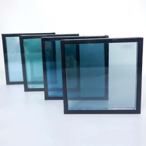 6A/9A/12A Energy Saving Tempered Double Glazing Glass pictures & photos