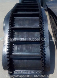 High Quality Excellent Corrugated Sidewall Conveyor Belt and High Quality Steep Angle Conveyor pictures & photos