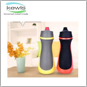 Skid Resistance PE 600ml Gym Water Bottle pictures & photos