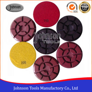 100mm Diamond Polishing Pad for Concrete pictures & photos