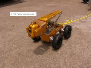 Industrial Pipeline Crawler Robots for 100mm --2000mm Pipe Inspection Camera pictures & photos