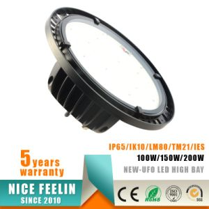 IP65-Waterproof 150W UFO LED High Bay Light with Philips Driver pictures & photos