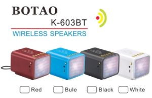 Bluetooth Speaker, LED Mini Bluetooth Speaker TF USB FM Wireless Portable Music Sound Box Subwoofer Loudspeakers pictures & photos