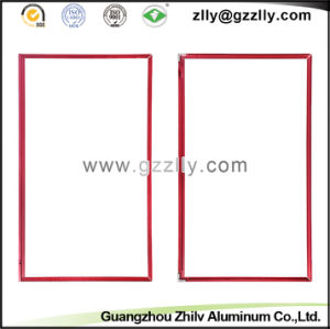Golden Aluminium Profile Accessories TV Frame Building Material pictures & photos