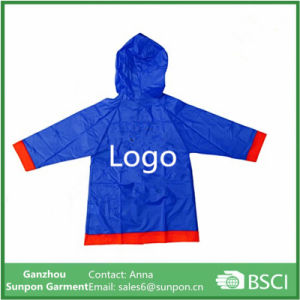 Children′s Raincoat with Customized Logo Printing pictures & photos