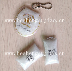 Custom Square PVC Air Tag Without Inner Spone for Hanger (YJ-K006) pictures & photos