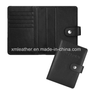 Fashion Leather Passport Cover Case Holder Travel Wallet pictures & photos