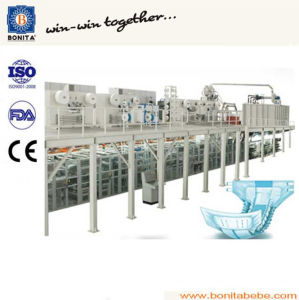 China Semi-Servo Adult Incontinence Pad Machine with Ce (BNT-AD-05) pictures & photos