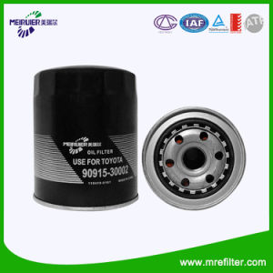 OEM Quality Car Filter for Toyota Auto Oil Filter 90915-30002 pictures & photos