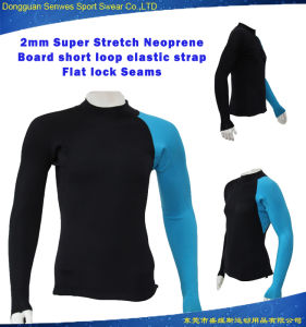 Customized Men Super Stretch Neoprene Soft Swim Wetsuit Jacket pictures & photos