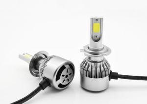 36W 3800lm COB Chips H7 H11 H1 H3 H4 9005 9006 C6 LED Headlight 6000K pictures & photos