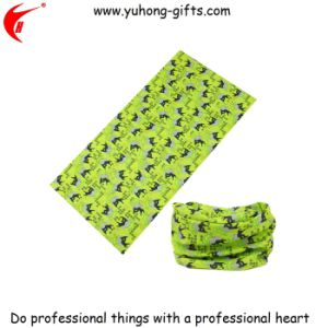 Cheap Seamless Tube Screen Printed Buff Scarf for Sale (YH-HS013) pictures & photos