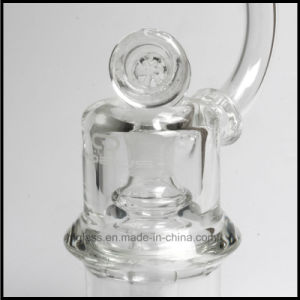 "Mobius Glass Smoking Pipe Water 7mm Height 8"" Mobius Atom Matrix Perc Pyrex Bubbler Weed Pipe pictures & photos"