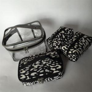 PVC& Nylon Sets Makeup Handbag for Women pictures & photos