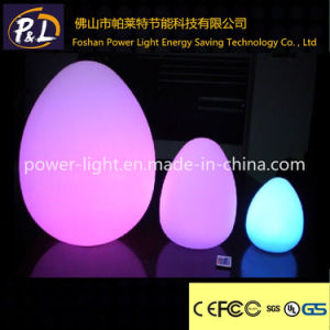 Color-Changing Outdoor Waterproof LED Egg Light pictures & photos