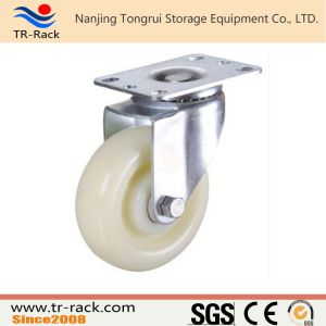 Medium Duty Square Stem Rubber Wheel Casters pictures & photos