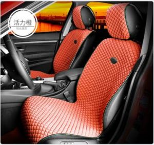 Car Seat Cover Flat Shape Ice Silk-Grey pictures & photos