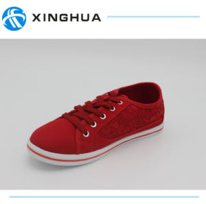 New Style With Lace Canvas Casual Shoes pictures & photos