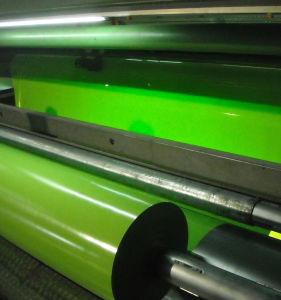 High Gloss PVC Color Film Sheet pictures & photos