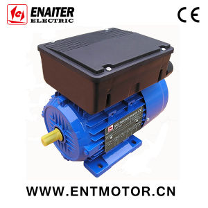 Asynchronous Al Housing single phase Electrical Motor pictures & photos