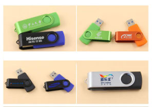 Twister USB 2.0 3.0 Flash Memory Disk Stick USB with Logo pictures & photos