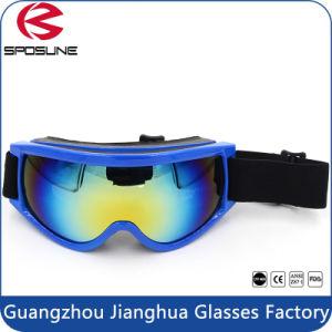 Multi-Color PC Lens Anti Impact Safety Glasses Ski Goggles pictures & photos